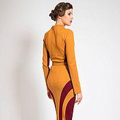 Одежда ручной работы. Ярмарка Мастеров - ручная работа Жёлтая юбка. Handmade.