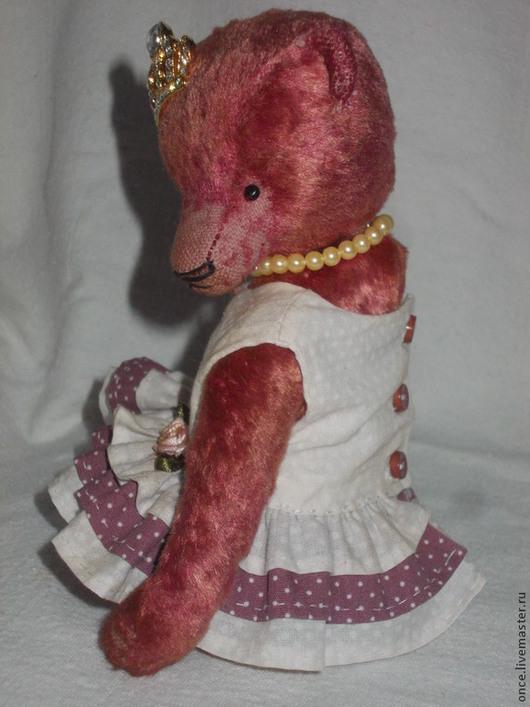 Мишки Тедди ручной работы. Ярмарка Мастеров - ручная работа. Купить Charlotte. Handmade. Коралловый, мишка в одежде