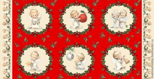 Панель для пэчворка Рождественский ангел