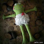 Куклы и игрушки ручной работы. Ярмарка Мастеров - ручная работа Игрушка Лягушка. Handmade.