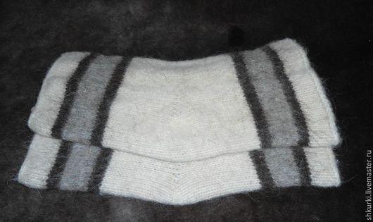Носки, Чулки ручной работы. Ярмарка Мастеров - ручная работа. Купить Наколенники из натуральной шерсти. Handmade. Разноцветный