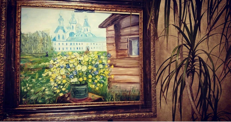 Картина маслом Летний пейзаж, Картины, Королев,  Фото №1