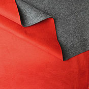 Замша ручной работы. Ярмарка Мастеров - ручная работа Ткань. Замша с флисом 9029595. Handmade.