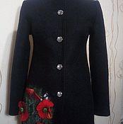 """Одежда ручной работы. Ярмарка Мастеров - ручная работа Пальто """"Маковое поле"""". Handmade."""