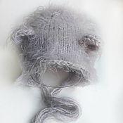 Аксессуары для фотосессии ручной работы. Ярмарка Мастеров - ручная работа Шапочка для новорожденного, шапочка для фотосессии. Handmade.