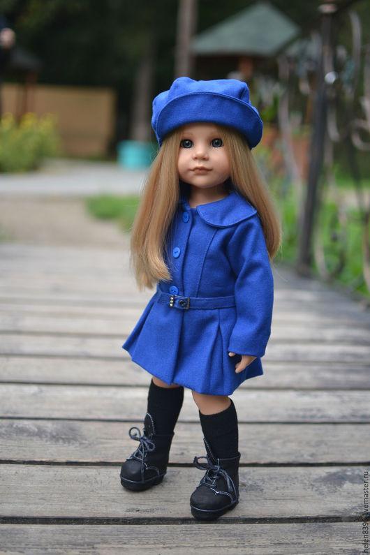 Осенне пальто для куклы Gotz