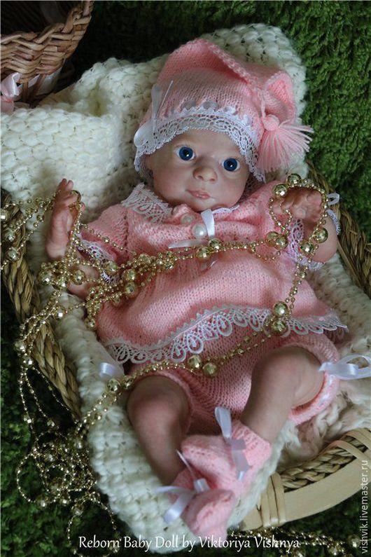 Куклы-младенцы и reborn ручной работы. Ярмарка Мастеров - ручная работа. Купить Эльфийка Джулия. Handmade. Розовый, винил
