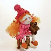 Куклы и игрушки ручной работы. Ярмарка Мастеров - ручная работа Ангелочек в шапочке. Handmade.