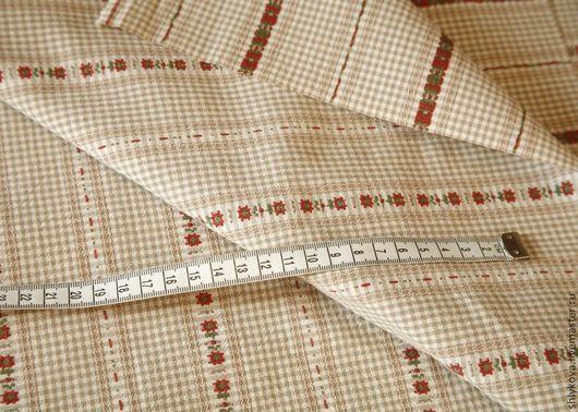 Шитье ручной работы. Ярмарка Мастеров - ручная работа. Купить Японский фактурный хлопок.. Handmade. Бежевый, ткань, ткани