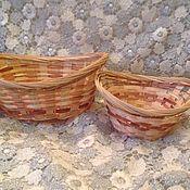 Корзины ручной работы. Ярмарка Мастеров - ручная работа Корзина плетеная. Handmade.