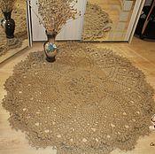 Для дома и интерьера handmade. Livemaster - original item Carpet knitted Grand-jute. Handmade.