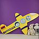 Жизнерадостная фоторамка для ребенка, который мечтает стать летчиком!