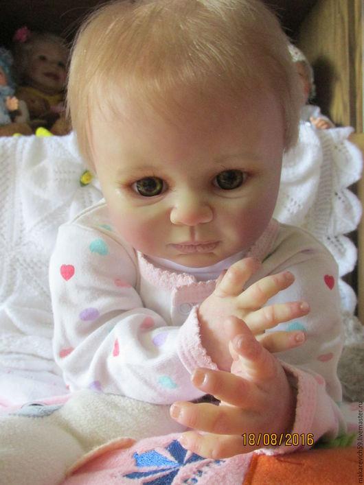 Куклы-младенцы и reborn ручной работы. Ярмарка Мастеров - ручная работа. Купить кукла реборн Лилли. Handmade. Бежевый