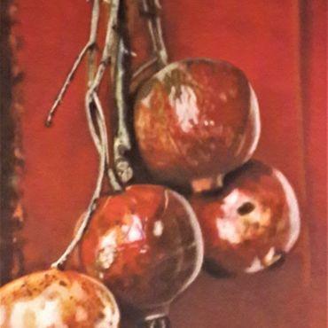 Картины и панно ручной работы. Ярмарка Мастеров - ручная работа Картина:Цвет граната.. Handmade.