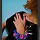 """Браслеты ручной работы. Ярмарка Мастеров - ручная работа. Купить браслет """"Королева лета"""". Handmade. Браслет, женский браслет из камней"""