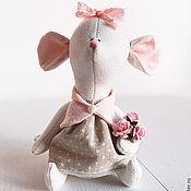 Мягкие игрушки ручной работы. Ярмарка Мастеров - ручная работа Little mouse. Handmade.