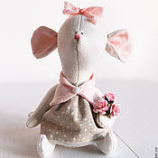 Куклы и игрушки ручной работы. Ярмарка Мастеров - ручная работа Little mouse. Handmade.