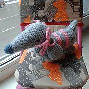 Куклы и игрушки ручной работы. Ярмарка Мастеров - ручная работа Такса с бантиками. Handmade.