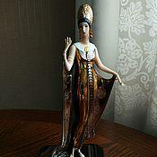 Erte, раритетная  коллекционная статуэтка в стиле арт-деко. США.