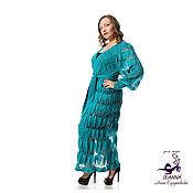 Одежда ручной работы. Ярмарка Мастеров - ручная работа Роскошное вязаное пальто из итальянского мягкого мохера на 2-3 размера. Handmade.