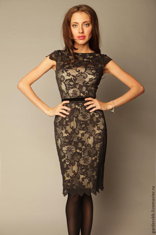 Коктейльные платья фото кружевные
