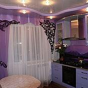 Для дома и интерьера ручной работы. Ярмарка Мастеров - ручная работа Комплект штор для зала,гостиной столовой, кухни.. Handmade.