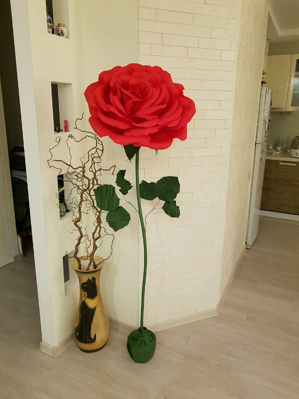 Ростовые розы из бумаги своими руками 654