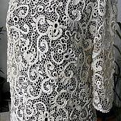 """Одежда ручной работы. Ярмарка Мастеров - ручная работа Блузка """" Завитки"""" ирландское кружево.. Handmade."""