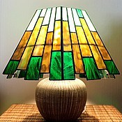 Для дома и интерьера handmade. Livemaster - original item Forest. Stained Glass Lamp. Handmade.