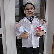 Куклы и игрушки handmade. Livemaster - original item Portrait doll photo Doctor. Handmade.