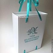 Сувениры и подарки ручной работы. Ярмарка Мастеров - ручная работа Коробка-пакет - оригинальная подарочная упаковка. Handmade.