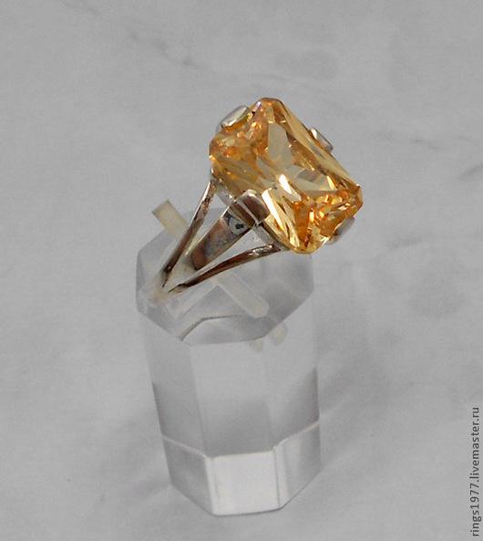 """Кольца ручной работы. Ярмарка Мастеров - ручная работа. Купить Кольцо с """"апельсиновым"""" камнем. Handmade. Оранжевый, подарок"""
