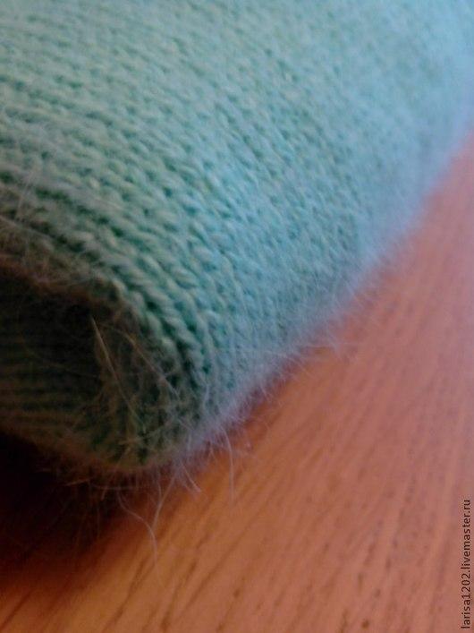 """Кофты и свитера ручной работы. Ярмарка Мастеров - ручная работа. Купить Пуловер из ангоры """"Мятное мороженое"""". Handmade. Мятный, безразмерный"""