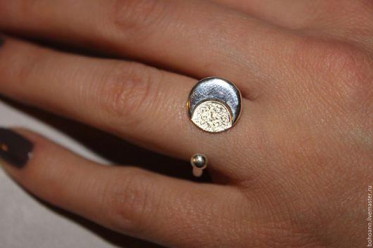 Кольца ручной работы. Ярмарка Мастеров - ручная работа. Купить Кольцо луна. Handmade. Серебряный, кольцо ручной работы