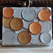 """Косметика ручной работы. Ярмарка Мастеров - ручная работа Мыло """"Монетки"""" в коробочке. Handmade."""