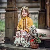 Русский стиль handmade. Livemaster - original item Koruna-kokoshnik Russian patterns. Handmade.