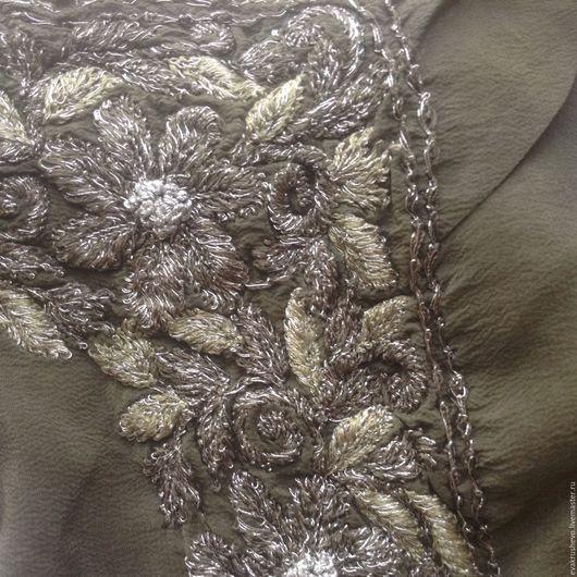 Одежда. Ярмарка Мастеров - ручная работа. Купить №398 Винтажное  кружево. Handmade. Ткани, ткань для шитья, кружева, винтаж, ткань