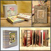 Канцелярские товары ручной работы. Ярмарка Мастеров - ручная работа Альбомы и блокноты на заказ. Handmade.