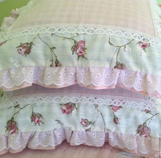 Текстиль, ковры ручной работы. Ярмарка Мастеров - ручная работа. Купить Постельное белье в стиле Прованс, Винтаж, Благоухающая нежность. Handmade.