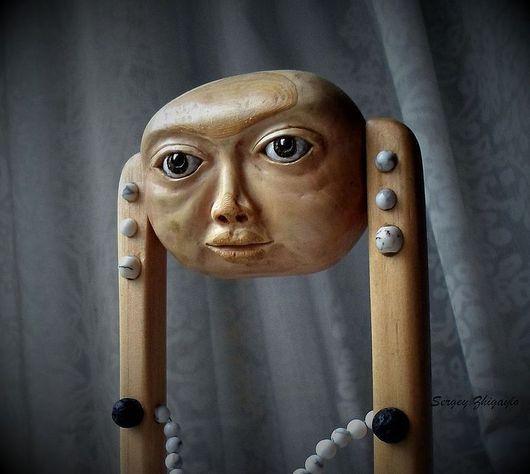 """Коллекционные куклы ручной работы. Ярмарка Мастеров - ручная работа. Купить Арт-кукла деревянная """"Этот большой-большой мир"""". Handmade. Кукла"""