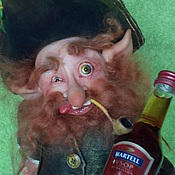 Куклы и пупсы ручной работы. Ярмарка Мастеров - ручная работа Лепрекон для Юлии. Handmade.