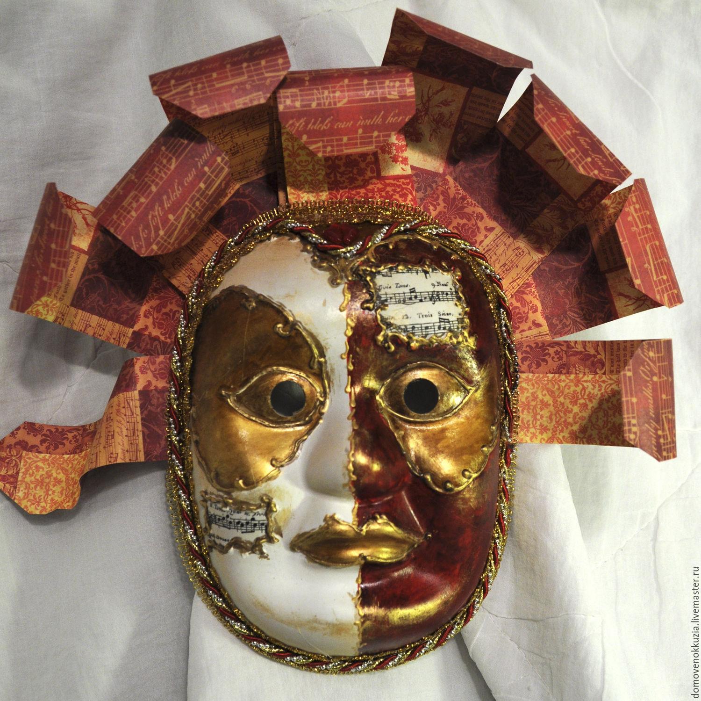 маски карнавальные 1, Интерьерные  маски, Ижевск, Фото №1