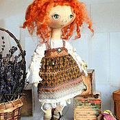 Куклы и игрушки ручной работы. Ярмарка Мастеров - ручная работа Тыквоголовая куколка Сластена. Handmade.