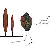 Сувениры и подарки ручной работы. Ярмарка Мастеров - ручная работа Домик осень маленький брошь. Handmade.