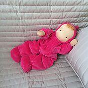 Куклы и игрушки ручной работы. Ярмарка Мастеров - ручная работа Мягконабивная куколка. Handmade.