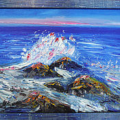 Картины и панно handmade. Livemaster - original item The ocean. Handmade.