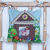 Для дома и интерьера ручной работы. Ярмарка Мастеров - ручная работа Развивающие бортики - подушки в кроватку. Handmade.
