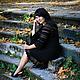Платья ручной работы. Ярмарка Мастеров - ручная работа. Купить Платье вязаное Черная жемчужина. Handmade. Черный, платье вечернее