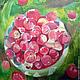 Картина. Абхазия. Красные яблочки работа Ольги Петровской-Петовраджи