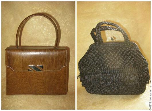 Винтажная сумка, ридикюль `Шедевр `- 2 шт, Европа- распродажа...